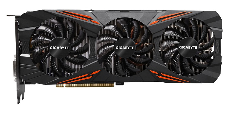 GIGABYTE GeForce GTX 1070, 1070 Ti, 1080