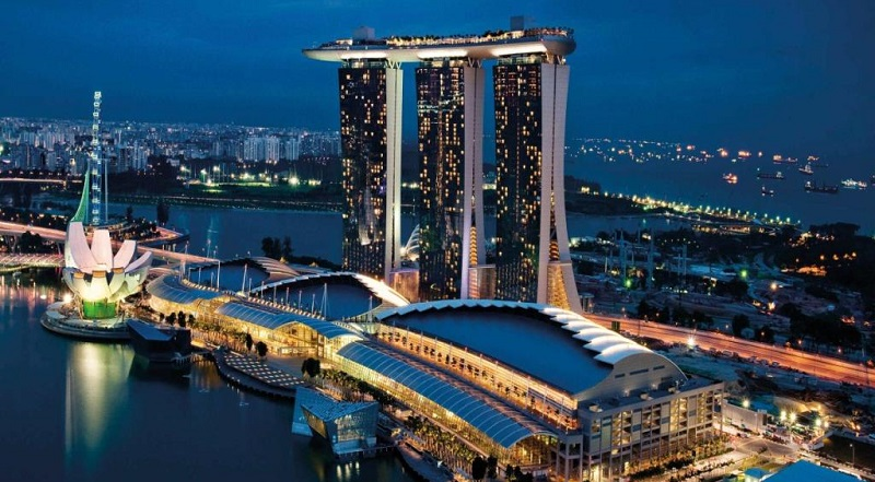 Отель Marina Bay в Сингапуре