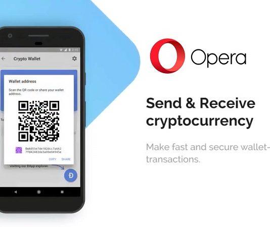 Opera интегрирует криптовалютный кошелек в десктопный браузер